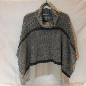 NWOT Marc New York turtle neck sweater poncho